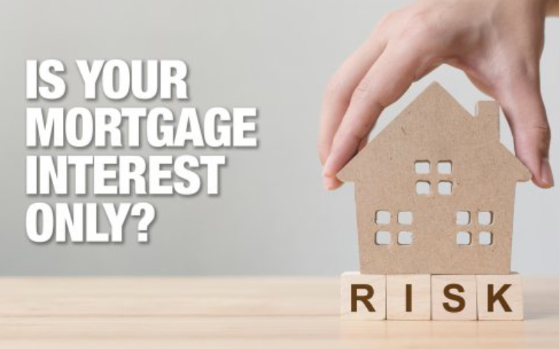 Do you have an interest‑only mortgage?